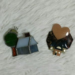 Vintage House Collectible Brooch Pins